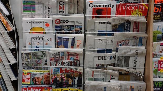zeitung online-journalismus printmedien verlage