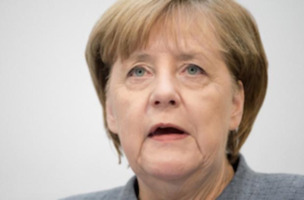 angela-merkel wirtschaft frankfurt Börse