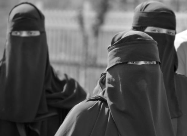 syrien heirat burka muslime