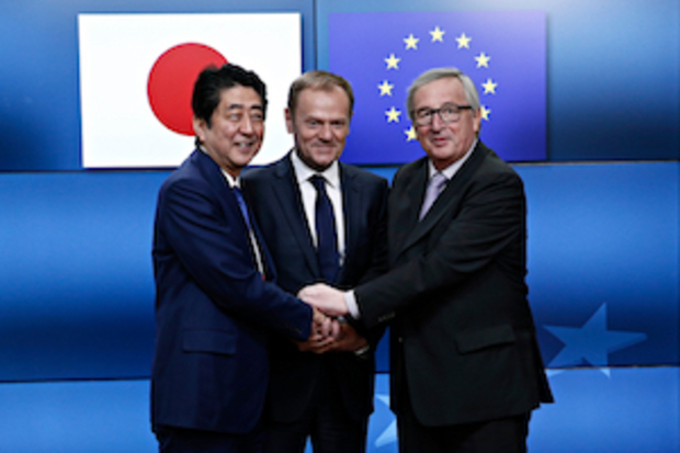japan europaeische-union freihandelsabkommen trump