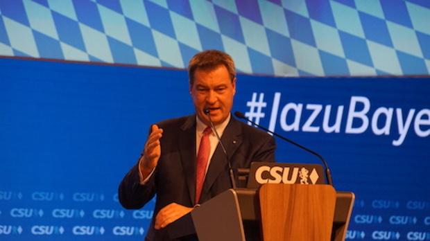 csu berlin bayern Landtagswahl-Bayern Markus Söder Bayernwahl