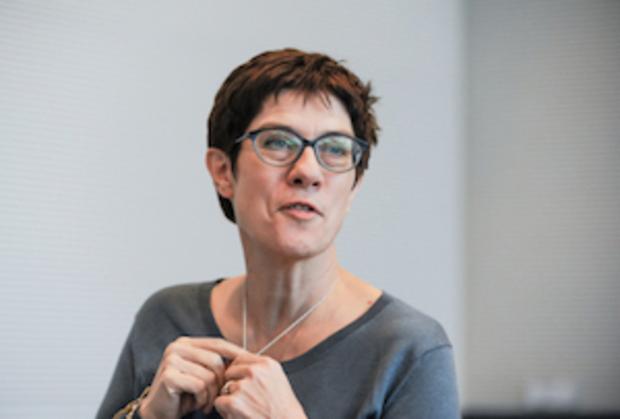 angela-merkel cdu kramp-karrenbauer Christdemokraten