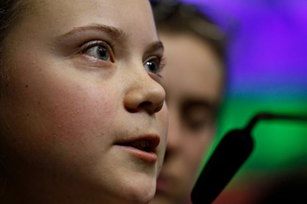 die-gruenen klimawandel klimapolitik Greta-Thunberg