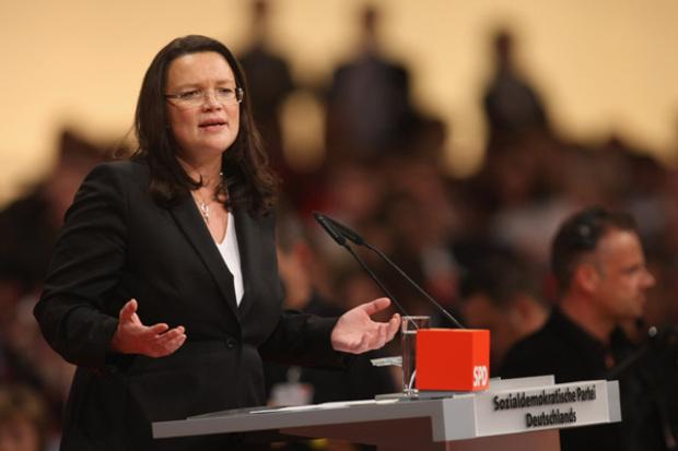 spd sigmar-gabriel opposition parteitag mitte-links