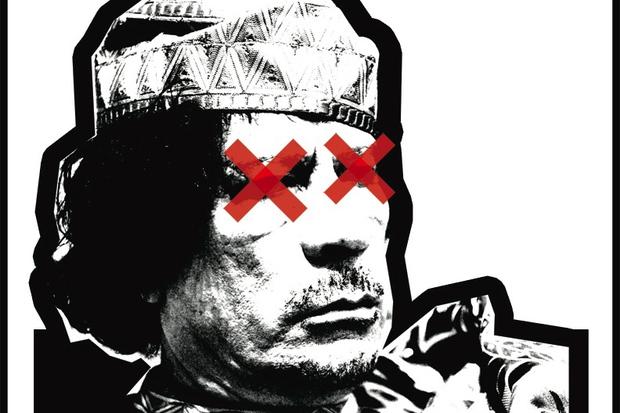 journalismus moral tod muammar-al-gaddafi