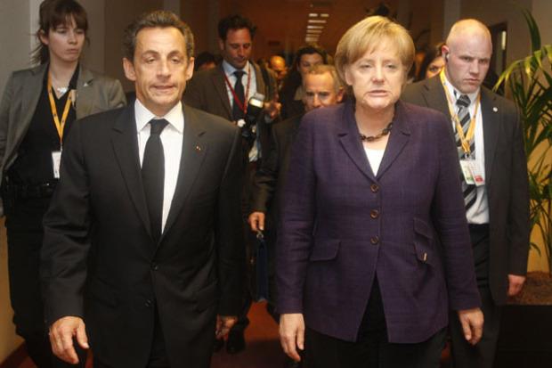 frankreich angela-merkel europa eurozone nicolas-sarkozy deutschland euro