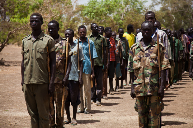 afrika sudan suedsudan buergerkrieg