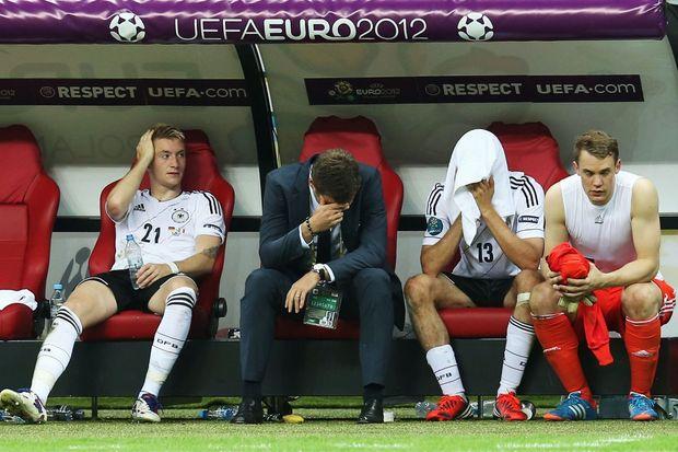 Deutschland Gegen Italien Bei Der Fußball Em The European