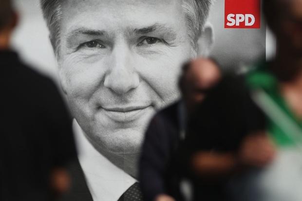 spd klaus-wowereit berlin peer-steinbrueck sigmar-gabriel frank-walter-steinmeier bundestagswahl