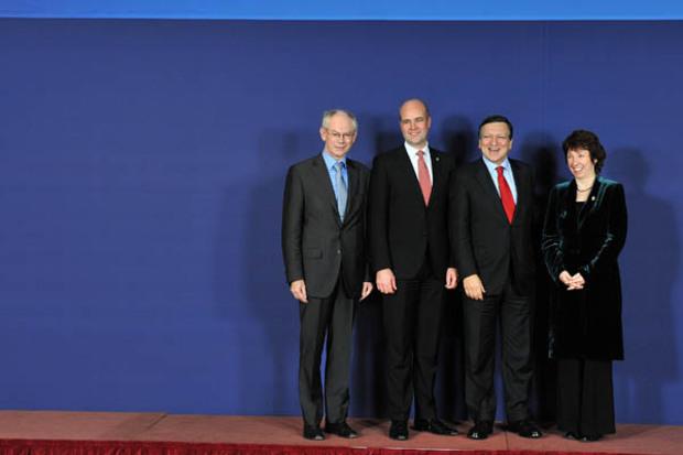 europaeische-union catherine-ashton herman-van-rompuy vertrag-von-lissabon eu-ratspraesidentschaft