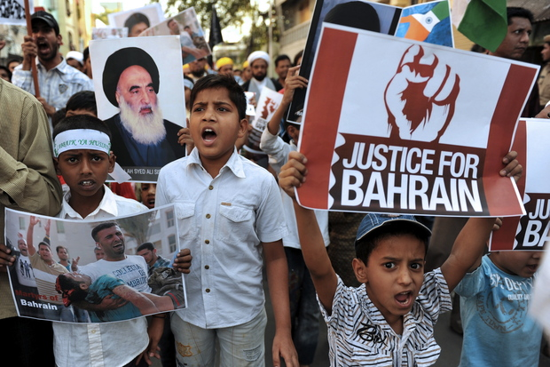 religion bahrain protest revolution sunniten schiiten