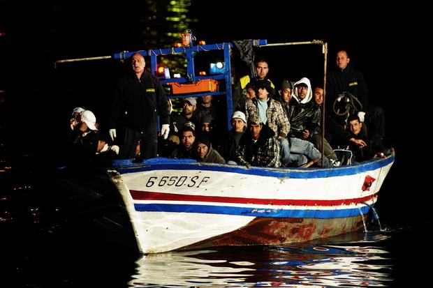 europa-politik europa fluechtlinge frontex lampedusa