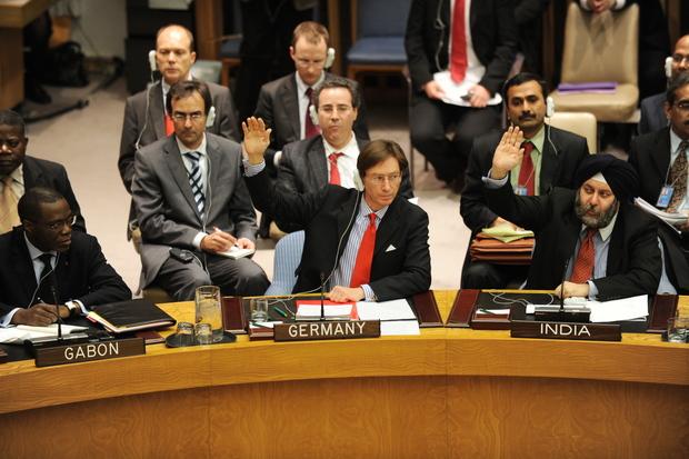 aussenpolitik guido-westerwelle vereinte-nationen libyen muammar-al-gaddafi flugverbotszone sicherheitsrat resolution