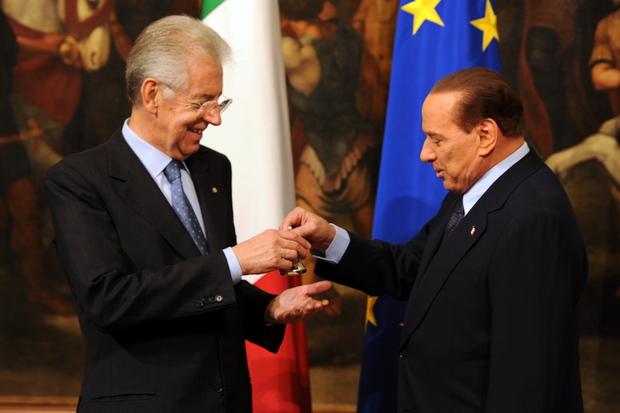 demokratie italien politische-kultur silvio-berlusconi mario-monti