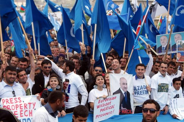 menschenrecht eurovision-song-contest aserbaidschan