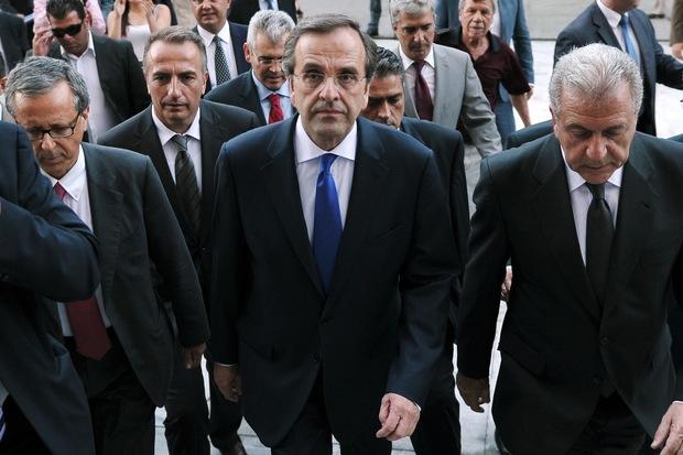 regierung zusammenleben griechenland sparpolitik andonis-samaras