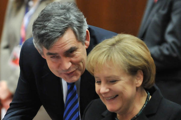 angela-merkel cdu management fuehrungskraft gordon-brown