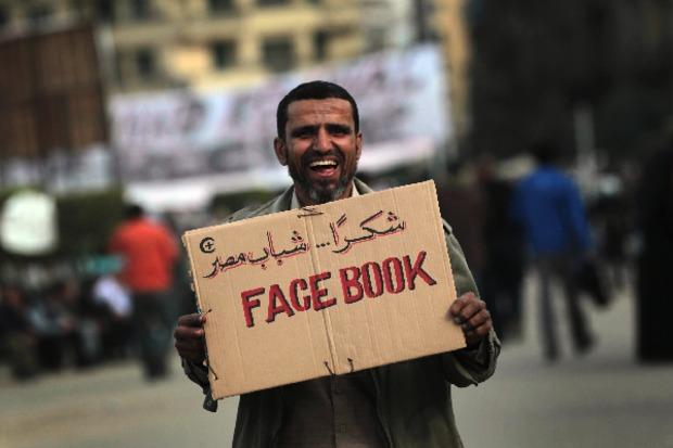 social-media internet arabischer-fruehling revolution