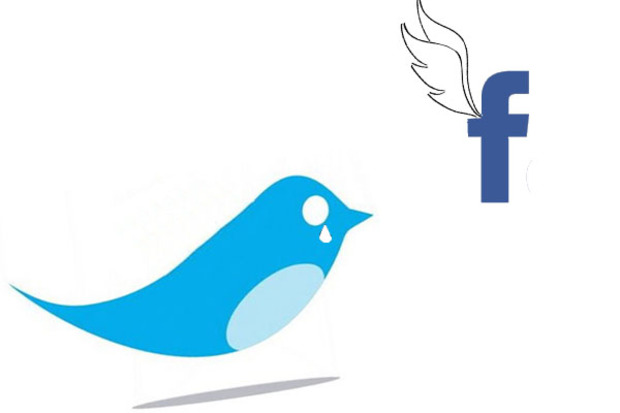 social-media facebook twitter
