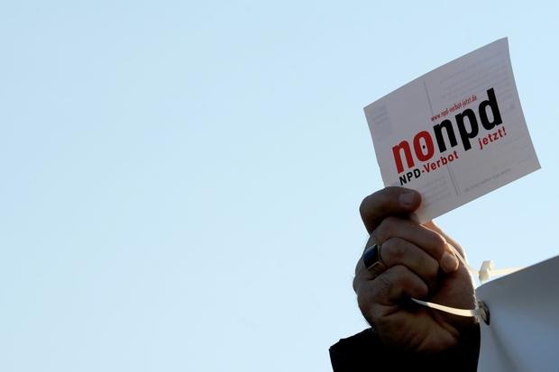 fdp rechtsextremismus parteienrecht bundesregierung npd parteiverbot npd-verbot