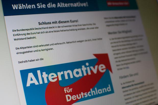 europa-politik partei eurokrise AfD bernd-lucke