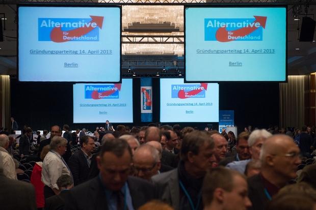 europa-politik wahlkampf eurokrise bundestagswahl AfD
