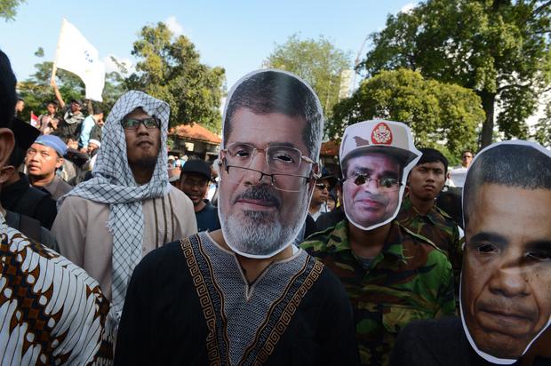 barack-obama mohamed-morsi egypt