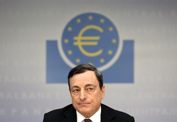 euro europaeische-zentralbank mario-draghi europawahlen