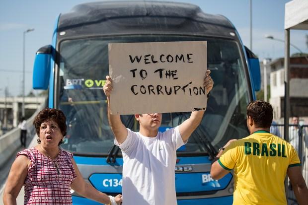 demokratie korruption brasilien fussball-wm-2014