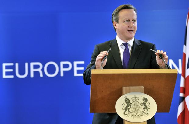 europa-politik david-cameron jean-claude-juncker eu
