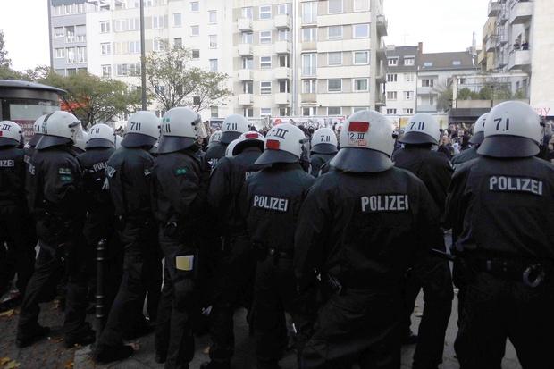 polizei grundgesetz salafismus gewalt