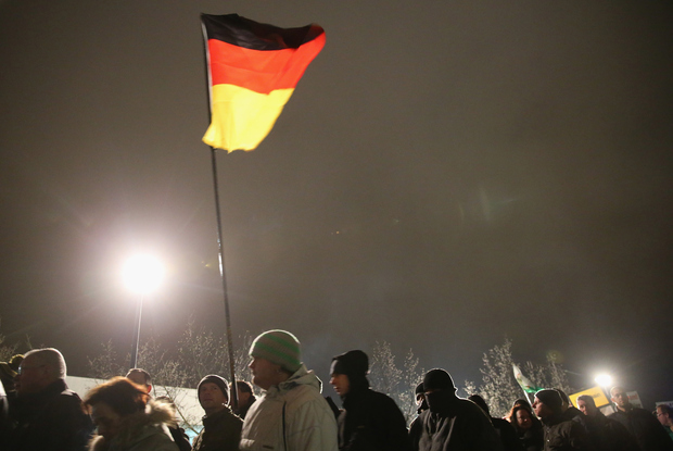 islam rechtspopulismus demonstration pegida