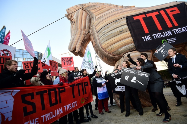 dresden freihandelsabkommen pegida TTIP