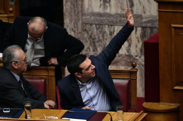 eurozone griechenland alexis-tsipras yanis-varoufakis grexit