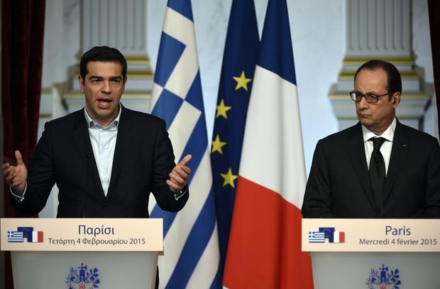 francois-hollande krise griechenland