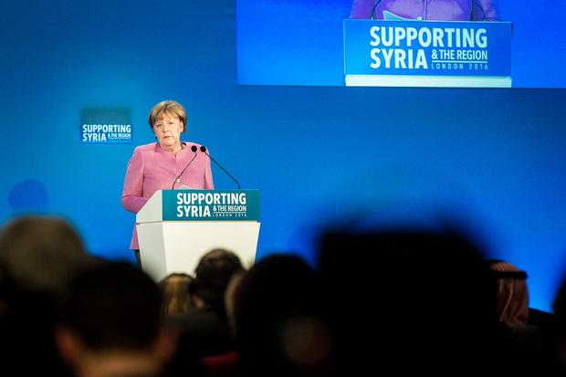 angela-merkel syrien flüchtlinge flüchtlingskrise